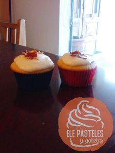 Nuestros taaaaan famosos cupcakes de Tocino con Maple. ¿Qué esperas para probarlos?
