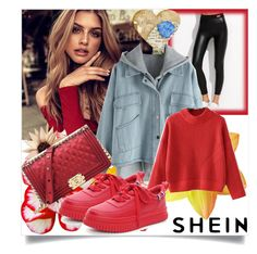 """SHEIN II/1"" by betty-boop23 ❤ liked on Polyvore featuring Sheinside and shein"