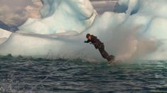 Alaska Wakeboarding - amazing! What's a glacier for?