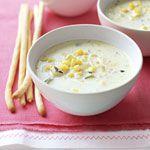 Sweet Corn Chowder Recipe   MyRecipes.com