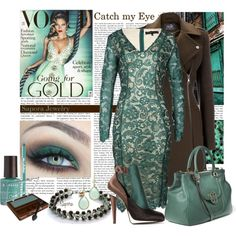 Catch my Eye by sapora on Polyvore featuring мода, Forever Unique, Wallis, Fendi, Tory Burch, COVERGIRL, Ardency Inn and Korres