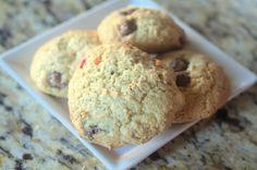 Chocolate Chip Granola Cookie Dough Cookies and a #MakeItYoursHoliday Sweepstakes   Photo