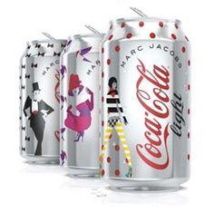 Así son las nuevas latas de Coca-Cola Light diseñadas por Marc Jacobs