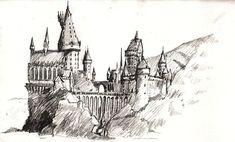 Hogwarts zeichnung