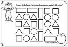 Dikdörtgen ile ilgili çalışma sayfası Worksheets, Preschool, Printables, Math, Geometric Fashion, Learning, Kindergarten, Geometry, Kid Garden