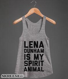 Lena Dunham   Lena Dunham racerback tank #Skreened