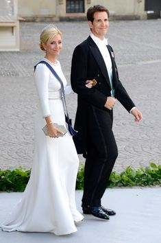 Pavlos, Crown Prince of Greece and his wife, Crown Princess Marie-Chantal