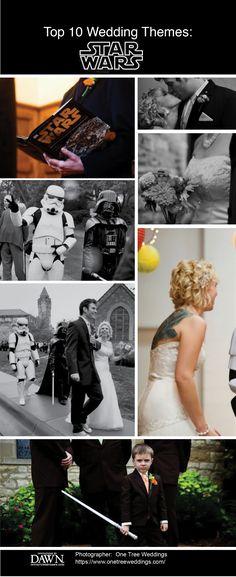 Top Ten Wedding Themes: Star Wars Inspired