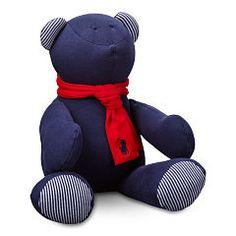 Medium Plush Bear - Baby Boy All Accessories - RalphLauren.com