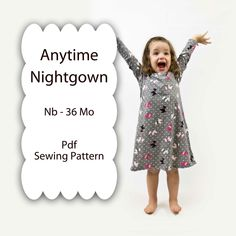 toddler night gown pattern