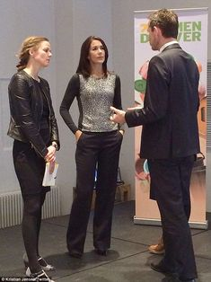 Women Deliver: Princess Mary appeared today at a New Year reception in Copenhagen...