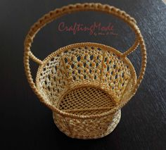 Hey, I found this really awesome Etsy listing at https://www.etsy.com/listing/160187263/macrame-basket-nice-handmade