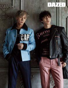 Ravi & Leo (VIXX) - Dazed & Confused Magazine September Issue '16