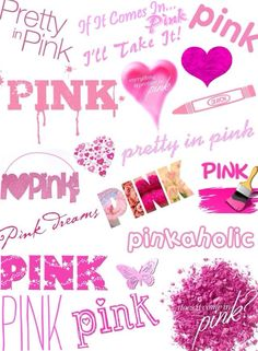 Pretty-N-Pink makes me happy ♡Love it's Love♡ Always Vintage Pink, Bright Pink, Pink Purple, Pink Dot, Rosa Pink, Pink Quotes, Color Quotes, My Favorite Color, My Favorite Things