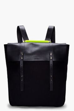 ShopStyle: PAUL SMITH Neon Handle Mainline Backpack