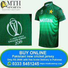 27bc1d264 Order new Replica Pakistani cricket team jersey