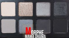 Warm Reddish Silver Shimmer with Morphe Mama Drama The Little Palette