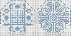 SUZI: Blue Quaker patterns