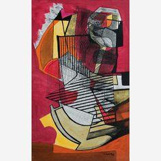 Obra de Burle Marx no leilão 25 de Outubro de 2012 da Bolsa de Arte