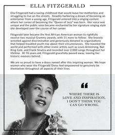 Agnes & Dora Ella Fitzgerald Dress Quote Influencer Agnes and Dora shopmyprettything.com