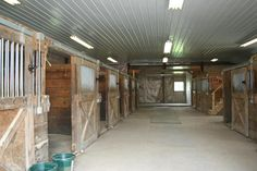 This Jackson, WI home includes a barn - perfect for any equestrian lovers out there!