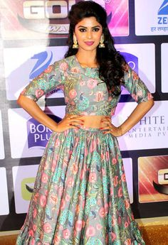 Sayantani Ghosh at Gold Awards 2016. #Bollywood #Fashion #Style #Beauty #Hot #Sexy