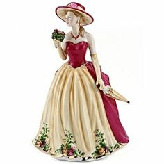 Royal Albert Old Country Roses 2010 Figure of the Year (S) NEW IN THE BOX  #RoyalAlbertOldCountryRoses2010Figureofthe