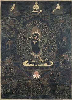 Wrathful protector deity, tentatively identified as Ekajati.
