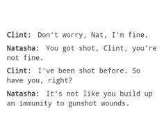 YOU DONT BUILD UP IMMUNITY TO GUN SHOT WOUNDS
