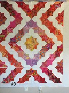 Gorgeous scrappy batik quilts ideas 015 From 49 Handy Scrappy Batik Quilts Ideas Charm Square Quilt, Charm Quilt, Half Square Triangle Quilts, Batik Quilts, Scrappy Quilts, Blue Quilts, Quilt Block Patterns, Quilt Blocks, Quilting Projects