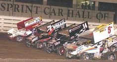 such a beautiful sight... sprint cars