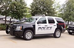 BNSF Railway Police K-9 Explosives Detection Unit Chevy Tahoe