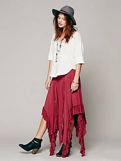 Free People Fly Away Convertible Skirt, $88.00
