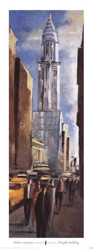 Didier Lourenco - Chrysler Building - art prints and posters