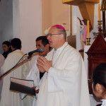 El Obispo dedicó el templo centenario de Alijilán en el cierre de las fiestas de la Virgen del Perpetuo Socorro