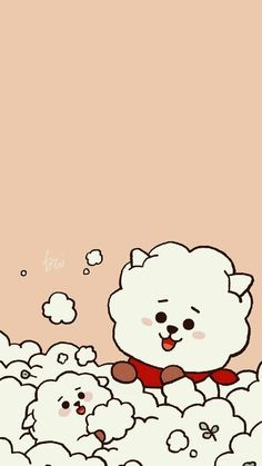 Read 065 from the story Bangtan The Next Generation 💕 (VKook-YoonMin-NamJin) Eres Mio Solo Mio 2 by with reads. K Wallpaper, Kawaii Wallpaper, Aesthetic Iphone Wallpaper, Bts Chibi, Bts Backgrounds, Bts Drawings, Line Friends, Cute Cartoon Wallpapers, Bts Lockscreen