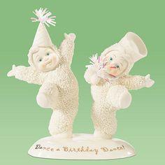 Department Dept 56 Snowbabies Dance A Birthday Dance 69630 Celebrate Party | eBay