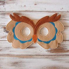 Hey, I found this really awesome Etsy listing at https://www.etsy.com/listing/202070307/kids-owl-mask-blue-felt-kids-mask