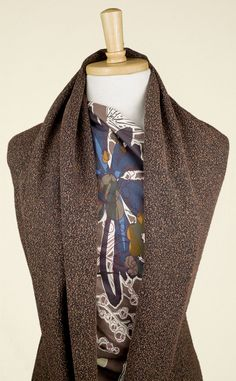 Rather sophisticated black and soft bronze boucle fabric with great drape. Perfect for relaxed suits and separates as well as warm winter dresses and wraps. Winter Dresses, Separates, Wraps, Bronze, Suits, Fabric, Black, Fashion, Tejido