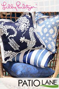 Patio Lane presents Lilly Pulitzer decor upholstery fabric