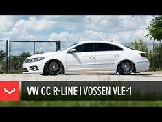 "VW CC R-Line | ""137 of 400"" | Vossen VLE-1 - YouTube"
