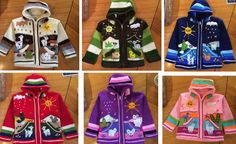 New Kids Wool Hooded Sweater Peruvian Hand Woven Embroidery detail Long Sleeves Zip up Hooded Pockets sizes available 1 , 2 ,4 ,6 , 8 10,12 and 14