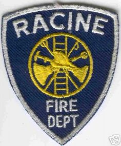 Wisconsin - Racine Fire Dept - PatchGallery.com Online Virtual Patch Collection By: 911Patches.com - Fire Departments EMS Ambulance Rescue Police Sheriffs Depts Law Enforcement and Public Safety Patches Emblems Logos