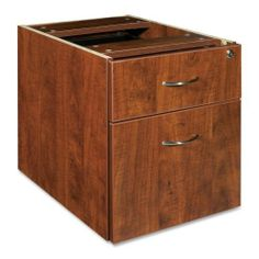 """Lorell 69000 Series Pedestal - 16"""" Width x 22"""" Depth x 19"""" Height - 1, 1 Drawer - Double - Cherry by Lorell. $116.99. Lorell 69000 Series Pedestal - 16"""" Width x 22"""" Depth x 19"""" Height - 1, 1 Drawer - Double - Cherry Hanging pedestal is part of Lorell 69000 Series Laminate Furniture with high-quality laminate construction and metal-to-metal cam-lock connections. Pedestal includes one box drawer and one file drawer that accommodates letter-size and legal-size files with..."""