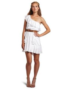 XOXO Juniors One Shoulder Belted Tiered Dress, White, Small XOXO, http://www.amazon.com/dp/B007AAEO4Q/ref=cm_sw_r_pi_dp_8a9Zpb1FVD6S2
