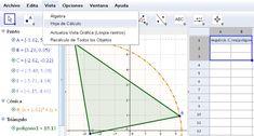 GeoGebra software gratuito para emprender y enseñar matematicas! Via maestros de la computación.