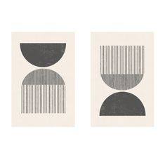 Mid century style woodblock print in classic geometric shapes and neutral colors Graphisches Design, The Design Files, Deco Design, Shape Design, Pattern Design, Mid Century Art, Mid Century Style, Mid Century Design, Woodblock Print
