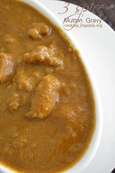 9 best indian non veg recipes images on pinterest veg recipes step by step photographed recipe to make a simple and easy mutton gravy south indian forumfinder Image collections