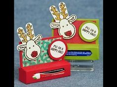 Lip Balm Holder Tutorial ~ Stampin' Up! Products | Cindy's Corner