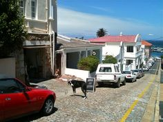 Kalk Bay. Village street